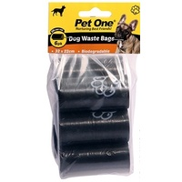 Pet One Dog Waste Bags - 6 Pack