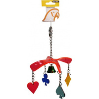 Avi One Parrot Toy Acrylic Dangling Propeller
