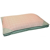 Pet One Dog Bed Mattress - Squares Rose Pink - Medium (75x50x10cm)