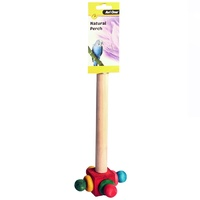 Avi One Bird Perch with Rotating End (24.5cm)