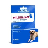 MILBEMAX for Dogs over 5kgs - 2 Pack - Dark Blue