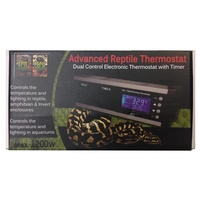 Eco Tech Advance Reptile Dual Control Electronic Thermostat with Timer