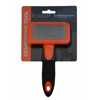 Scream Slicker Brush for Dogs - Small