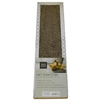 ZeeZ Single Width Cardboard Cat Scratcher (45cm x 12cm x 4cm)