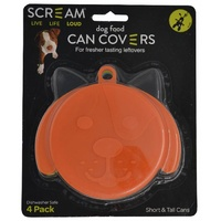 Scream Dog Food Can Covers - 4 Pack