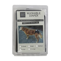 Zeez Washable Dog Diaper - Medium (Waist 28-48cm)