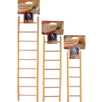 Natural Wood Bird Ladder - 7 Step