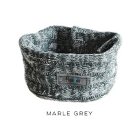 Huskimo Snood for Dogs - Medium - Marble Grey