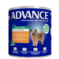 Advance Adult Dog Casserole with Chicken - Wet 700g