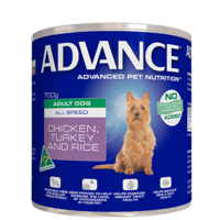 Advance Adult Dog Chicken Turkey and rice - Wet - 700g