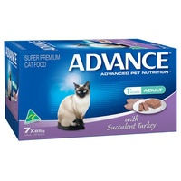 Advance Adult Cat with Succulent Turkey- Wet - (7 x 85g)