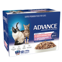 Advance Cat Multi Pouch Pack in Jelly (12 x 85g)