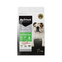 Black Hawk Chicken & Rice Adult Dog Food - 3kg
