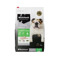 Black Hawk Chicken & Rice Adult Dog - 10kg