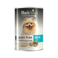 Black Hawk Grain Free Can Lamb - 400g