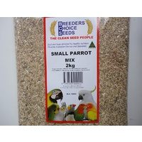 Small Parrot Mix 5kg- Bird Seed - Breeders Choice