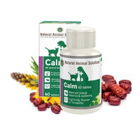 Calm for dogs & cats - 60 Tablets - Natural Animal Solutions