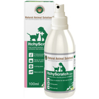 Itchy Scratch Spray for dogs, cats & horses - 100ml - Natural Animal Solutions