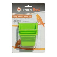 Premier Pet Premier Bird Small Busy Beak Coop Cup - 2 Pack - 80ml