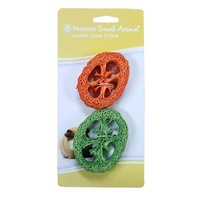 Premier Small Animal Loofah Chews - 2 Pack
