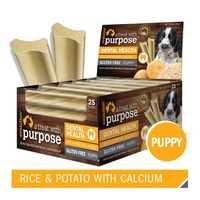 Evolution Dental Dog Treat - Puppy Rice & Potato with Calcium - Single Stick