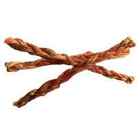 Braided Beef Bully Stick Dog Treat - Small - Single