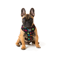 FuzzYard Dog Harness - Space Raiders - X-Large (43cm Neck - 55-80cm Chest)