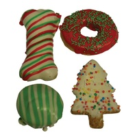 Huds and Toke Christmas Doggy Cookie Mix - 4 Pack