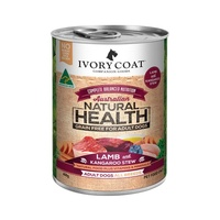 Ivory Coat Lamb and Kangaroo Stew Wet Dog Food Can- 400g