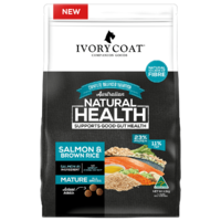 Ivory Coat Mature Dog Salmon & Brown Rice - 2.5kg