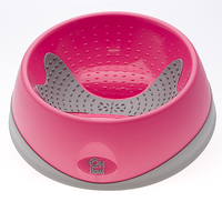 OH Bowl for Dogs Oral Health - Medium - Magenta (Pink)