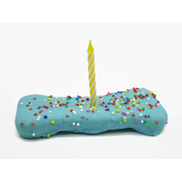 Wagalot Dog Birthday Bone - Blue