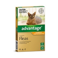 Advantage for Small Cats & Kittens up to 4kg (Orange)