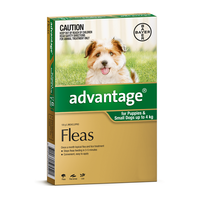 Advantage for Dogs up to 4 kgs - 12 Pack - Green