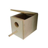 Budgie Breeding Nest Box (Particle Board)