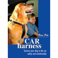 Beau Pets Dog Car Harness - Black