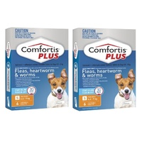 Comfortis PLUS for Dogs 4.6-9 kgs - 12 Pack - Orange