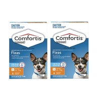 Comfortis Dogs 4.6-9 kgs - 12 Pack - Orange