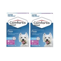 Comfortis for Dogs 2.3-4.5 kgs - 12 Pack - Pink