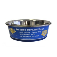 DuraPet Premium Stainless Steel Anti Skid Pet Bowl (Sizes: 350ml, 550ml, 1.1L, 1.85L, 2.75L, 4L)