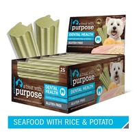 Evolution Dental Dog Treats - Seafood with Rice & Potato - Three Sticks