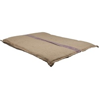 Hessian Dog Mattress - X-Large (110cm X 80cm) (Purple Stripe)