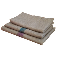 Hessian Replacement Dog Bed Cover - Medium (50cm X 90cm) (Plain)