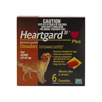 Heartgard Plus for Dogs 23-45 kgs - 12 Pack - Brown
