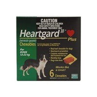 Heartgard Plus for Dogs 12-22 kgs - 12 Pack - Green