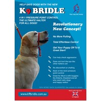 K9 Bridle for Dogs - Large (Blue)