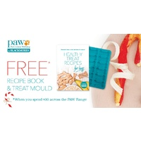 PAW Free Recipe Book & Treat Mould