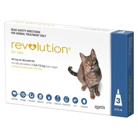 Revolution for Cats 2.6-7.5kg - Blue