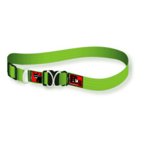 Black Dog Standard Collar - Super Strong - 25mm x 43-68cm (Colours: Purple, Pink, Red, Black, Blue, Green)