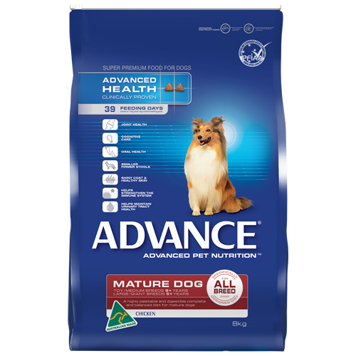 Advance Mature Dog All Breed - Chicken - 8kg